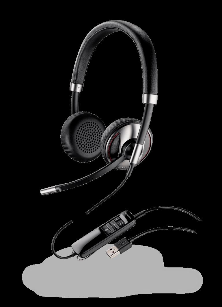 Blackwire 720-m c720-m binaurales USB//Bluetooth Headset Plantronics 87506-11