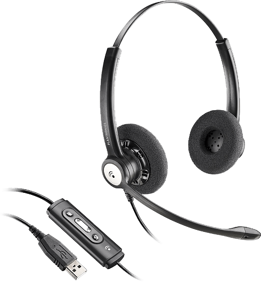 Blackwire 620, Over-the-head, Binaural, Standard