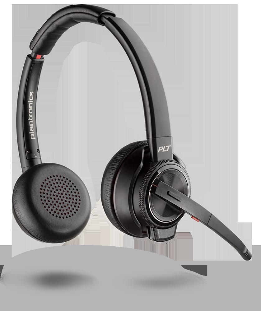 774eecfec3c Savi 8200 Series, Wireless DECT Headset System | Plantronics