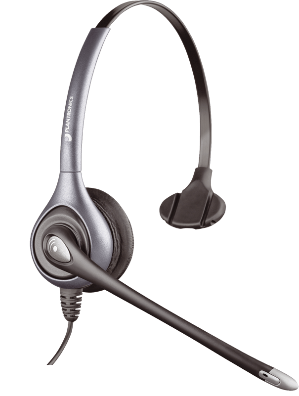 SupraPlus  Wideband, Monaural, Noise-canceling, Silver