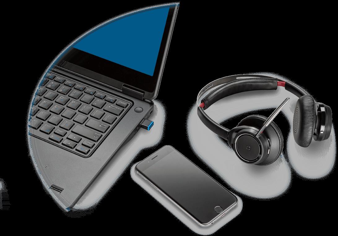 Noise Canceling Headphones Plantronics Now Poly